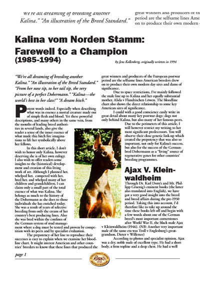 Farewell_wto_a_Champion_Kalina_Norden_stamm_story