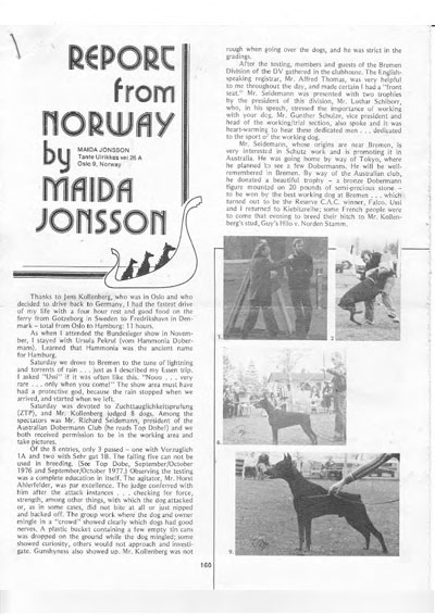 Maida Jonsson news from Norway