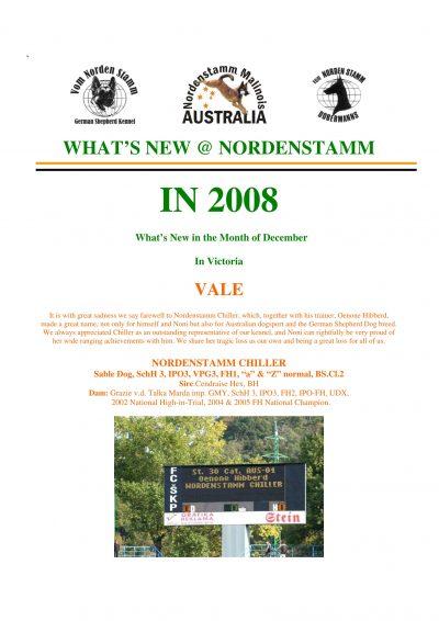 Nordenstamm News 2008