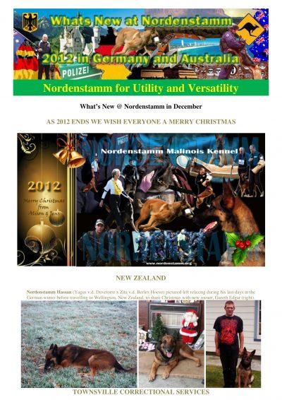 Nordenstamm News 2012