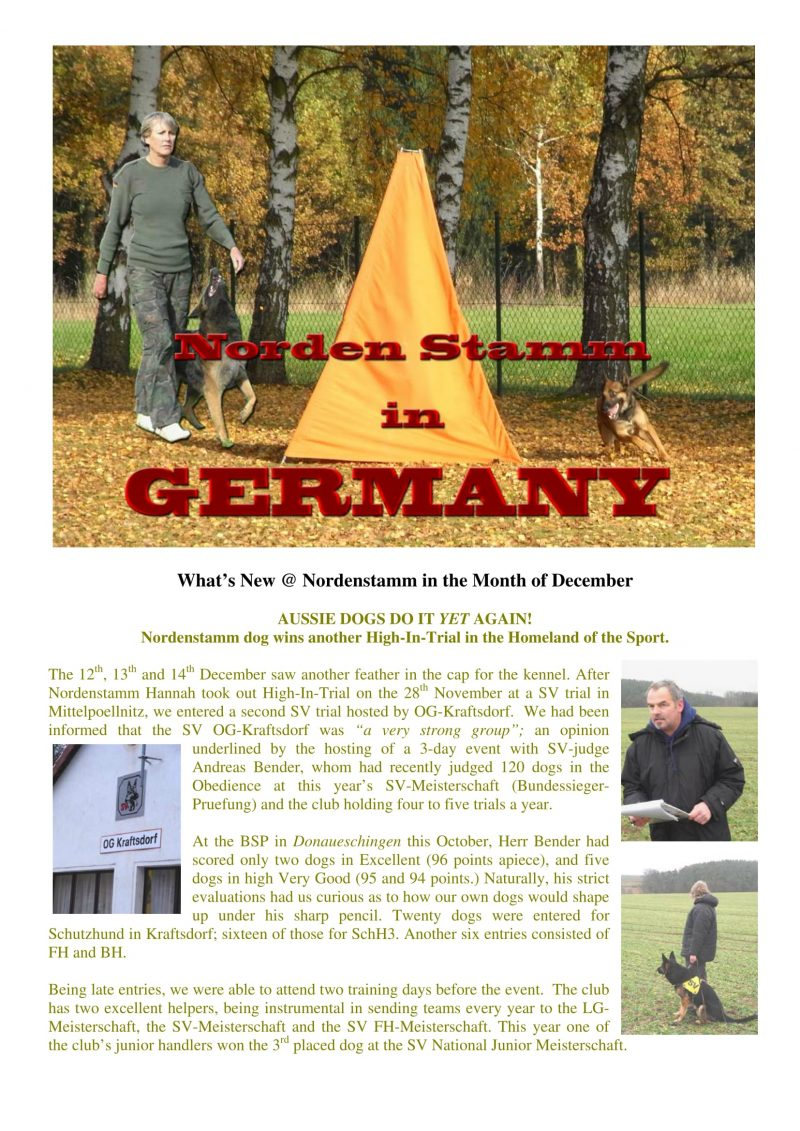 Nordenstamm News from germany